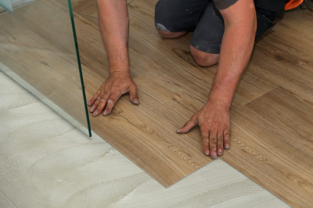 Vinyl vloer leggen